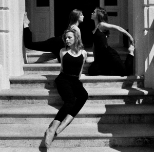 'On the Steps of Anna's House'